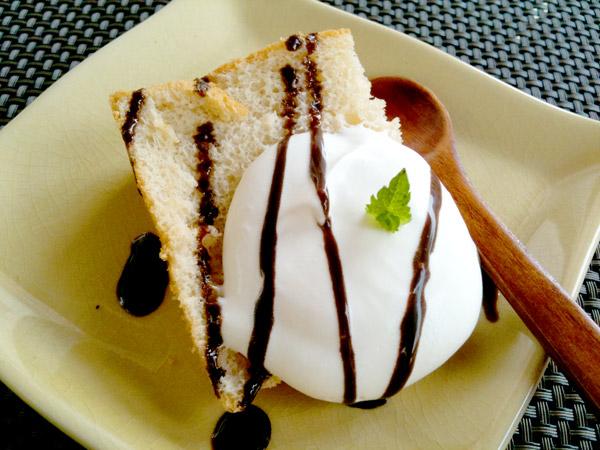 デザート:シフォンケーキ