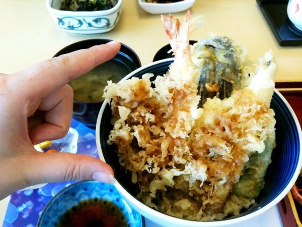 彩寿司:天丼
